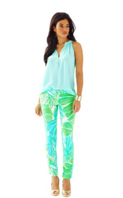 These Lily Pulitzer pants look so fresh!