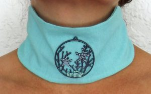 starfish choker necklace