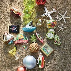 Margaritaville tree ornaments