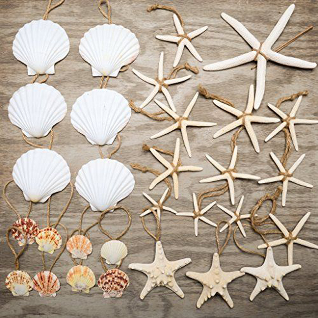seashell tree ornaments