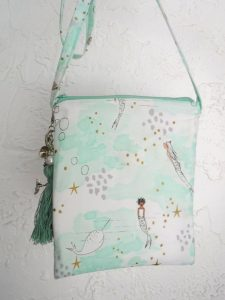 Mermaid crossbody bag