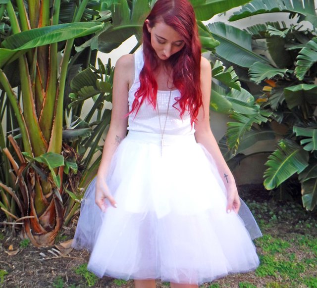 custom tulle skirt